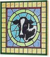 Holstein 4 Wood Print