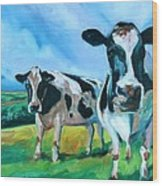 Holstein Amoogos Wood Print