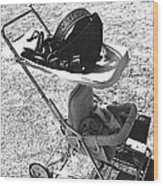 Holster Baby Carriage Helldorado Days Tombstone 1970 Wood Print