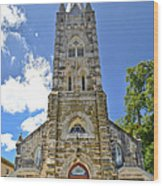 Holy Ghost Lutheran Church Wood Print
