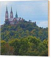 Holy Hill Wood Print by John Kunze
