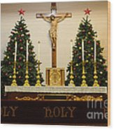 Holy Holy Holy Wood Print by Bob Christopher