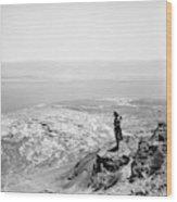 Holy Land Dead Sea, C1910 Wood Print