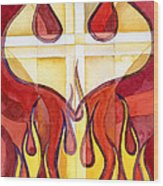 Holy Spirit 2 Wood Print