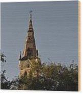 Holy Tower   Wood Print