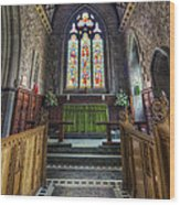Holy Trinity Church Vertotama Wood Print