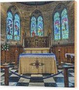Holy Trinity Wood Print