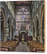 Holy Trinity Wood Print by Trevor Wintle