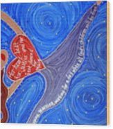 Holy Woman Icon Wood Print