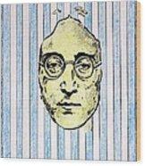 Homage To John Lennon  Wood Print