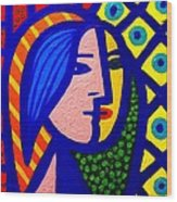Homage To Pablo Picasso Wood Print