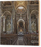 Homage To Pope Francis I Wood Print by David Bearden