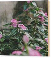 Home Flower Wood Print