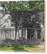 Home In Little Compton Rhode Island Wood Print