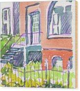 Home Wood Print