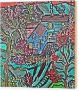 Home Wood Print by Matthew  James