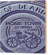 Home Of Henry Ford Wood Print