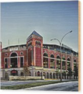 Home Of The Texas Rangers Wood Print