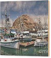 Home Port Wood Print