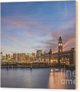 Home To Hoboken Wood Print