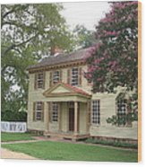 Homestead In Colonial Williamsburg Wood Print