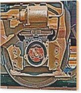 Hommage To Charles Scheeler Wood Print