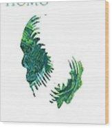 Homo Erectus 2 Wood Print