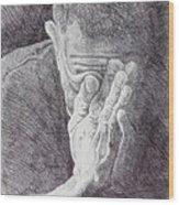 Homo Sapiens II Wood Print by Mike Walrath