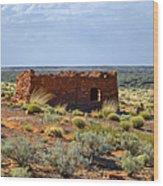 Homolovi Ruins State Park Az Wood Print