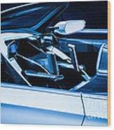 Honda Concept Wood Print