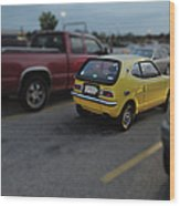 Honda Z600 Wood Print