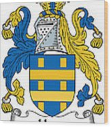 Hone Coat Of Arms Irish Wood Print
