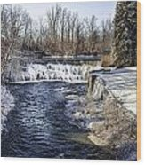 Honeoye Falls Wood Print