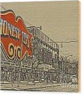 Honest Eds On Markham Street Wood Print