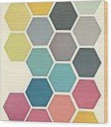 Honeycomb II Wood Print