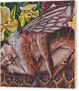 Honeymoon - Bhramari Devi Wood Print