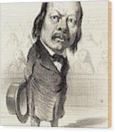 Honoré Daumier French, 1808 - 1879, Ferdinand Flocon Wood Print