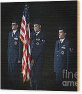 Honor Guard Wood Print