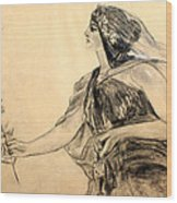 Honore Gyzis - Peace Wood Print