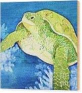 Honu Wood Print
