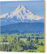 Hood River, Oregon Wood Print