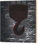 Hook Wood Print