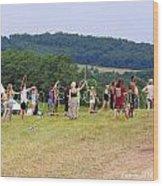 Hoop Camp Rw2k14 Wood Print