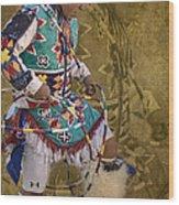 Hoop Dancer Past And Present Wood Print