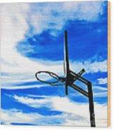 Hoop Dreamz Wood Print