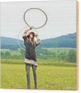 Hooping Rw2k14 Wood Print