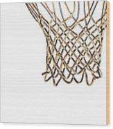 Hoops Anyone Wood Print