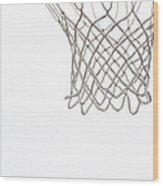 Hoops Wood Print