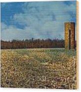 Hoosier Farm Wood Print