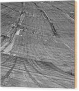 Hoover Dam Looking Down Wood Print
